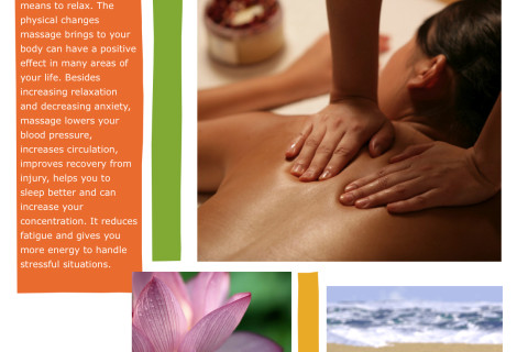 Massage & Health flyers